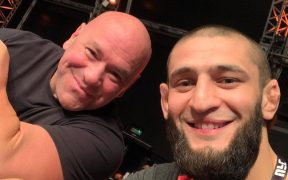 Khamzat Chimaev Dana White UFC