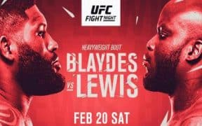 UFC, Blaydes, Lewis
