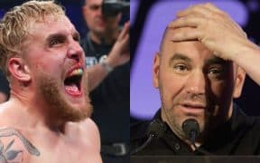 Jake Paul Dana White