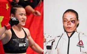 Weili Zhang Rose Namajunas