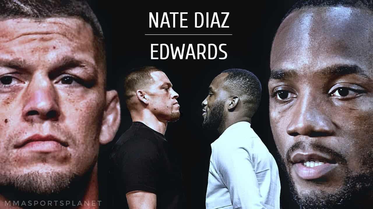 Leon Edwards Nate Diaz