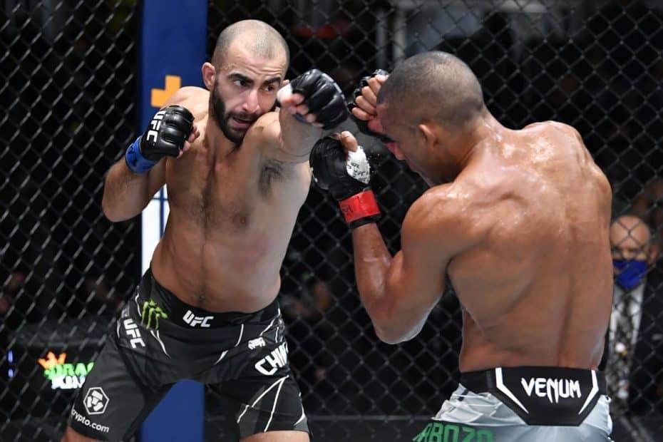 Giga Chikadze, UFC, Edson Barboza