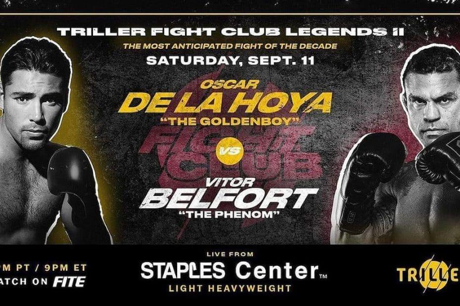 Belfort, De La Hoya