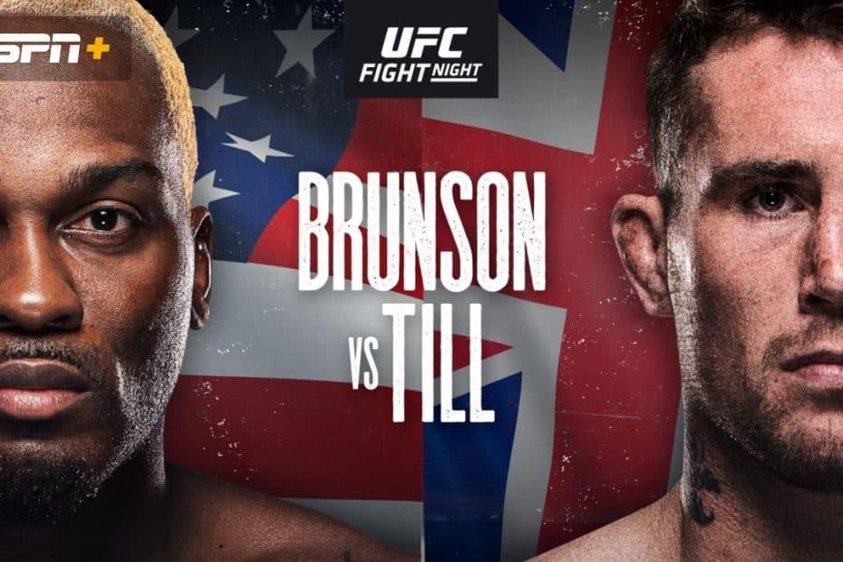 Brunson, Till, UFC, Tipsport
